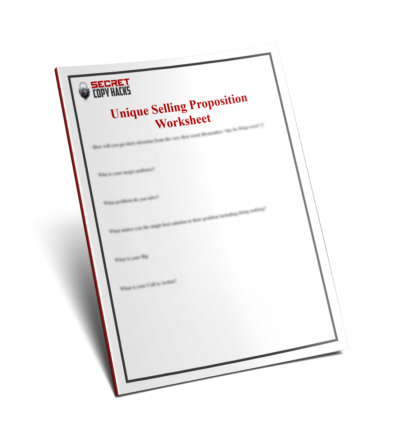 USP Worksheet